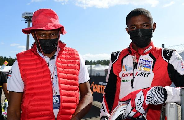 Milell et Tony Kart Champions du Monde KZ Travisanutto gagne en KZ2-14