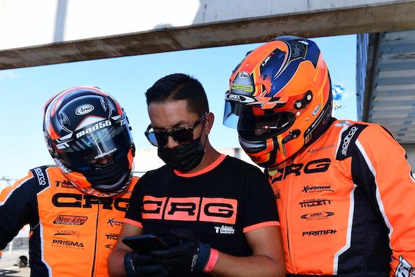 Milell et Tony Kart Champions du Monde KZ Travisanutto gagne en KZ2-17