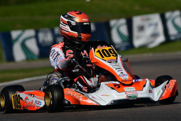 Milell et Tony Kart Champions du Monde KZ Travisanutto gagne en KZ2-18
