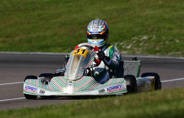 Milell et Tony Kart Champions du Monde KZ Travisanutto gagne en KZ2-19