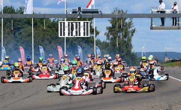 Travisanutto (107) vainqueur en KZ2
