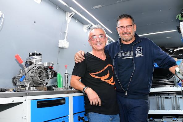 Milell et Tony Kart Champions du Monde KZ Travisanutto gagne en KZ2-24