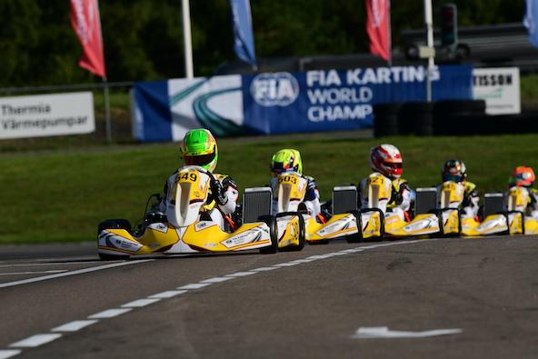 Milell et Tony Kart Champions du Monde KZ Travisanutto gagne en KZ2-26