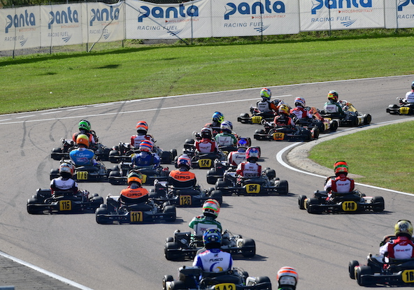 Milell et Tony Kart Champions du Monde KZ Travisanutto gagne en KZ2-27