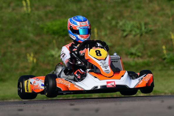 Milell et Tony Kart Champions du Monde KZ Travisanutto gagne en KZ2-4