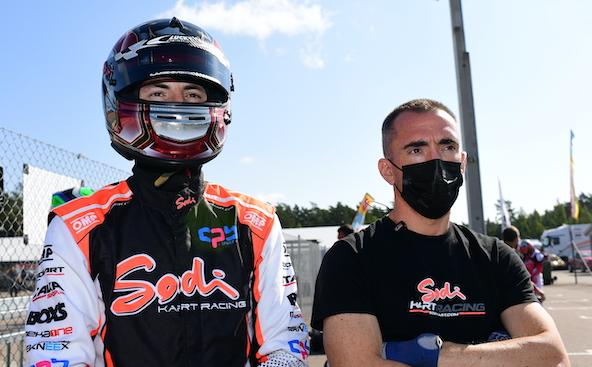Milell et Tony Kart Champions du Monde KZ Travisanutto gagne en KZ2-6