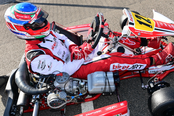 Milell et Tony Kart Champions du Monde KZ Travisanutto gagne en KZ2-7