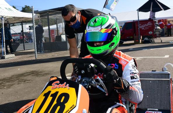 Milell et Tony Kart Champions du Monde KZ Travisanutto gagne en KZ2-8