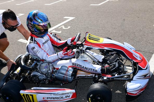 Milell et Tony Kart Champions du Monde KZ Travisanutto gagne en KZ2-9