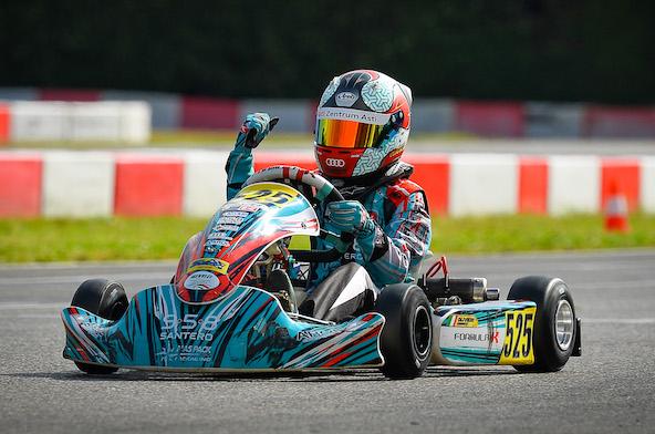 Emanuele Olivieri, vainqueur en 60 Mini