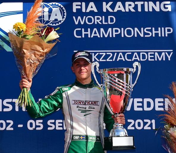 Le Suédois Milell est Champion du Monde à quelques kilomètres de sa maison