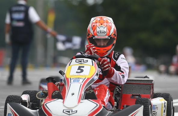 2e titre de Champion de France pour le triple vainqueur du Trophée Kart Mag Pierre Loubère, ça commence à faire !