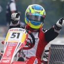 Varennes KZ2 Master: Paul David couronné pour un point !