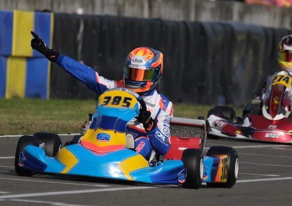 IAME Le Mans-Romain Andriolo recidive en X30 Senior-2