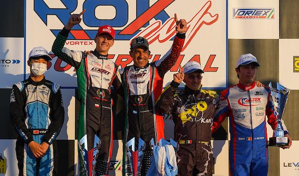 Rok Cup Superfinal: Un mélange de nationalités en haut du podium