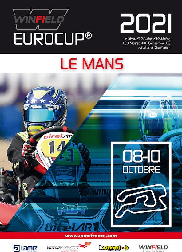 Suivez en live la IAME Eurocup au Mans